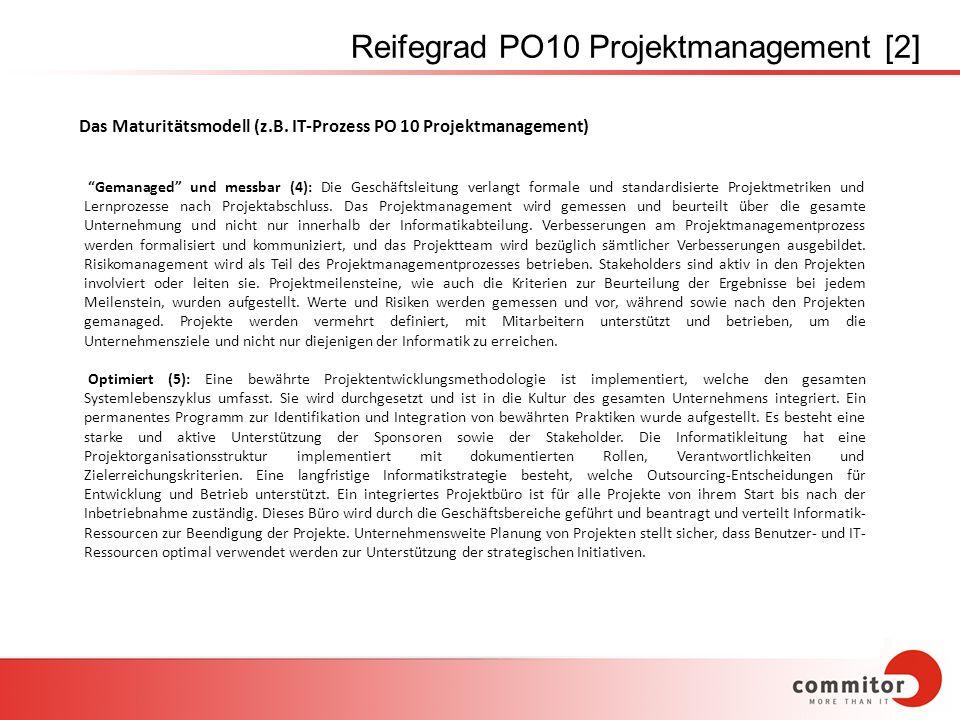 Reifegrad PO10 Projektmanagement [2]